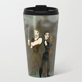 Robin and Regina Travel Mug