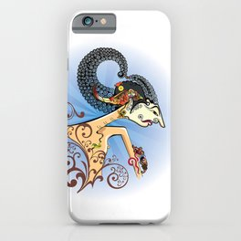 Wayang or shadow puppets iPhone Case