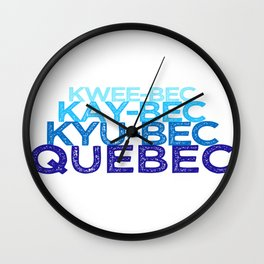 Letterkenny | Fishing in Quebec Wall Clock