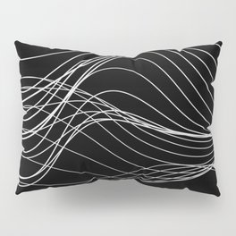Lines // Waves Pillow Sham