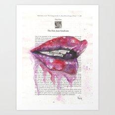 Don Juan Sydnrome - Lust Art Print