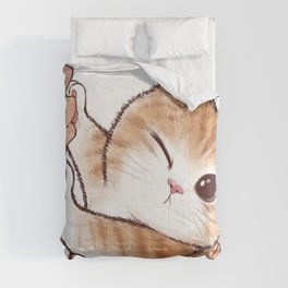 want to kiss Comforters