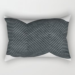 Abstract and minimalist art Rectangular Pillow