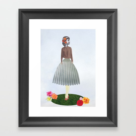 Wizard of OZ twist  Framed Art Print