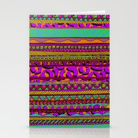 tribal Stationery Cards featuring Tribal by Aimee St Hill