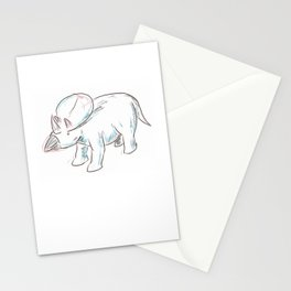 Dinosaurs 3 - Brachyceratops Stationery Cards