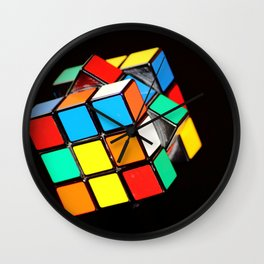 Rubik's cube Wall Clock
