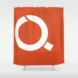 Fukushima-Prefecture Flag Shower Curtain