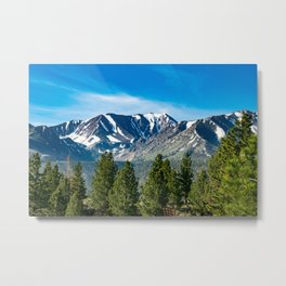 Mammoth Lakes Area, California Metal Print