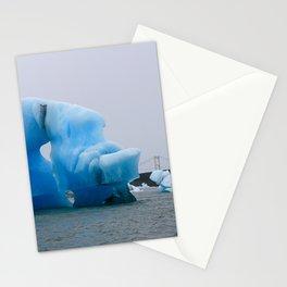 jökulhlaup Stationery Cards