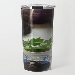 Mink 'n Classy Blue Wine Glasses Travel Mug