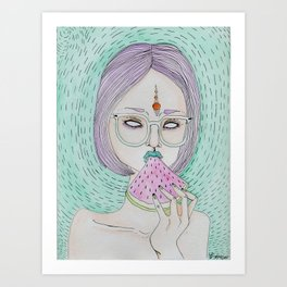 Summer Sweetness Art Print