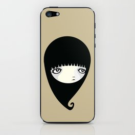 Black Drop iPhone Skin