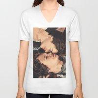 okay V-neck T-shirts featuring Okay? Okay. by Gillions