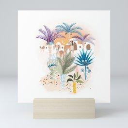 Saluki Dog Mini Art Print