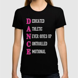 DANCE Acronym T-shirt