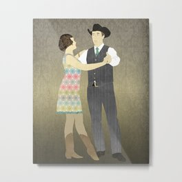 Country Two Step Metal Print