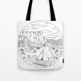 Yurt Dreams Tote Bag