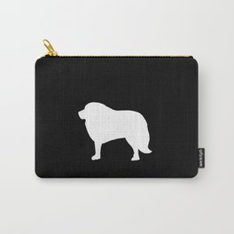 Big White Dog Carry-All Pouch