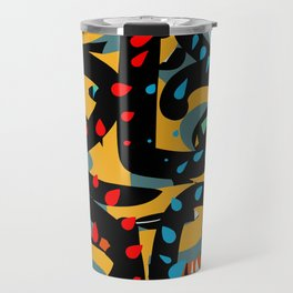 Energy Flow Abstract Art Life Travel Mug