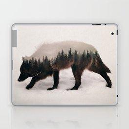 Black Wolf Laptop & iPad Skin