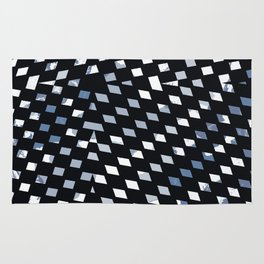 Black Diamonds Rug