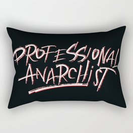 Professional Anarchist Rectangular Pillow