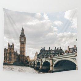 LONDON CITY BIG BEN XXII Wall Tapestry