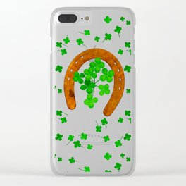 Truly Lucky Clear iPhone Case