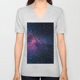 Sparkles Galaxy (Color Boost) Unisex V-Neck