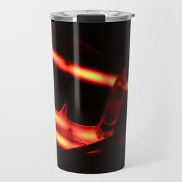 I Know Why The Caged Neon Hums Travel Mug