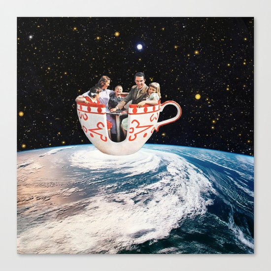 Storm in a Cup Canvas Print