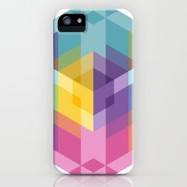 Fig. 024 Hexagon shapes iPhone Case