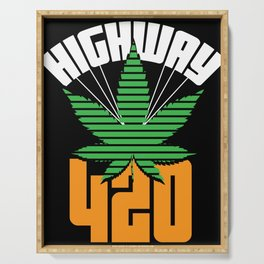 Highway 420 Serving Tray
