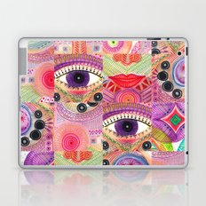 colorful words of a poem Laptop & iPad Skin