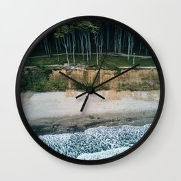 Waves, Woods, Wind and Water - Landscape Photography Wall Clock