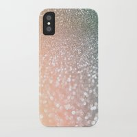 bisexual iPhone & iPod Cases featuring Rose quartz glitter  by Better HOME