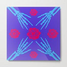 blooms&bones Metal Print