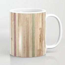 Wooden wall panel Coffee Mug