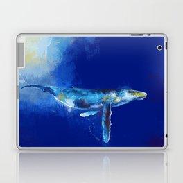 Deep Blue Whale Laptop & iPad Skin