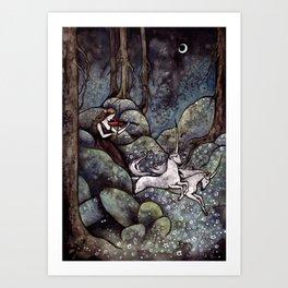 Moonlit Sonata Art Print