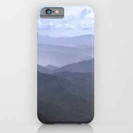 Smoky Mountain Melody - Nature Photography iPhone Case