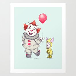 Pennie the Pooh Art Print