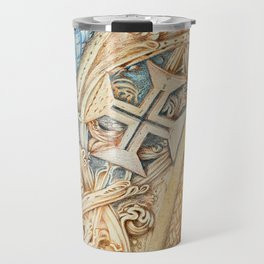 Mosteiro da Batalha. Monastery. Stone art . details. Travel Mug
