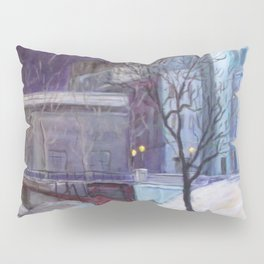 """On the Way to the Opera"" Pillow Sham"