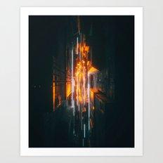 170107 / STRIKE Art Print