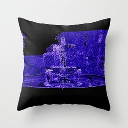 Fairy Fountain Throw Pillow