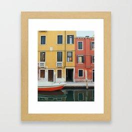 Venice Colours Framed Art Print
