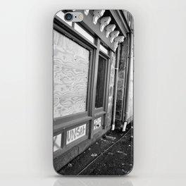 Unsafe Building iPhone Skin