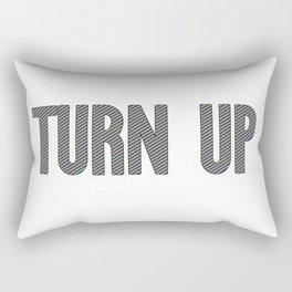 Turn Up | Hip Hop Rap Drugs Gift Idea Rectangular Pillow
